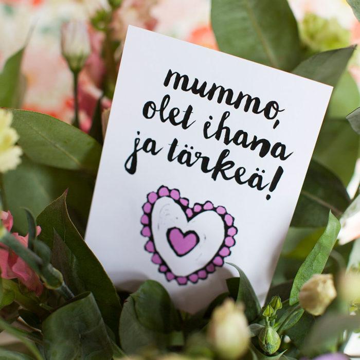 Kultamurunen, Mummo-kortti