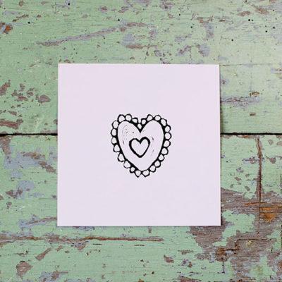 Kultamurunen sydän-taulu